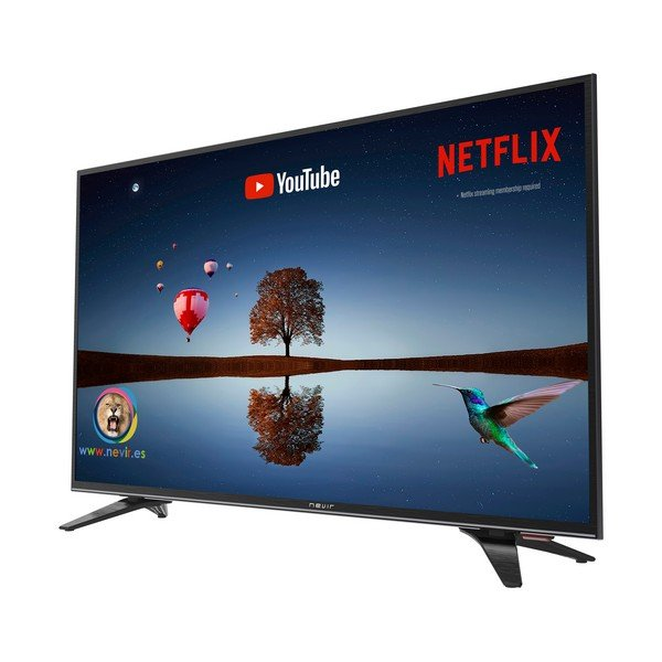 "Image of   Nevir 32"" Smart Tv - Hd-ready Hdmi Lan Netflix Youtube - 32rd2s-sm - Sort"