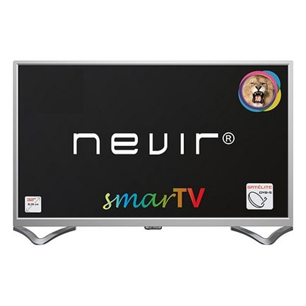 "Image of   Nevir 32"" Smart Tv - Hd-ready Miracast Lan Usb Hdmi - Nvr-8050 - Sølv"