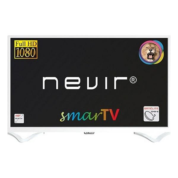 "Image of   Nevir 40"" Smart Tv - Fuld Hd Miracast Lan Usb Hdmi - Nvr-8050 - Hvid"