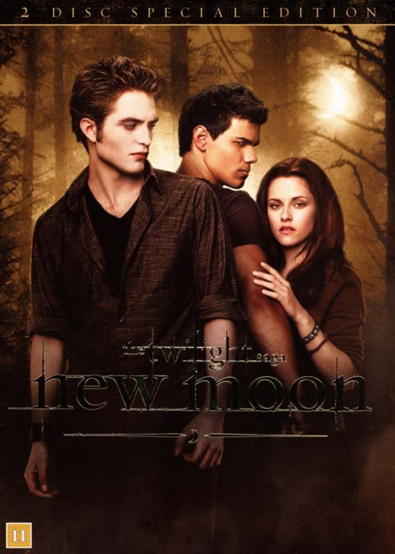 Image of   New Moon - The Twilight Saga - Special Edition - DVD - Film
