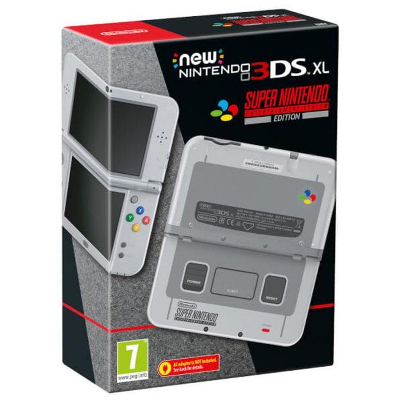 New Nintendo 3ds Xl Konsol - Super Nintendo Edition