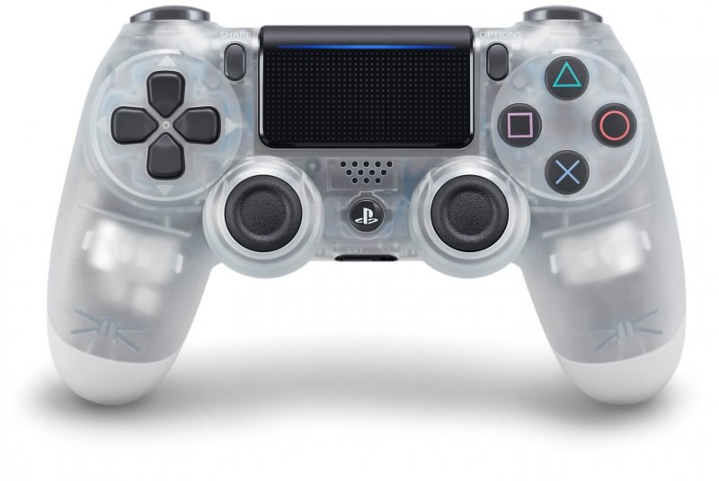 Image of   Sony Dualshock 4 Controller V2 / Ps4 Controller - Crystal