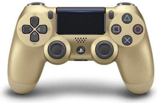 New Sony Dualshock 4 Controller V2 - Guld