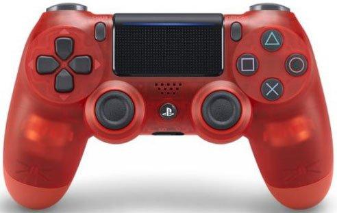 Sony Dualshock 4 Ps4 Controller V2 - Rødkrystal