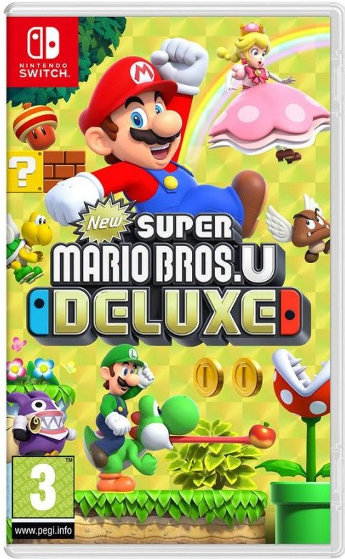 Image of   New Super Mario Bros. U Deluxe (uk, Se, Dk, Fi) - Nintendo Switch