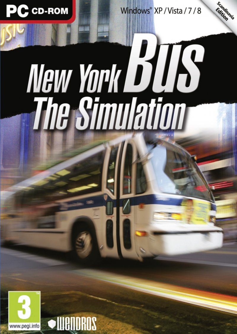 Image of   New York Bus: The Simulation - Dk - PC