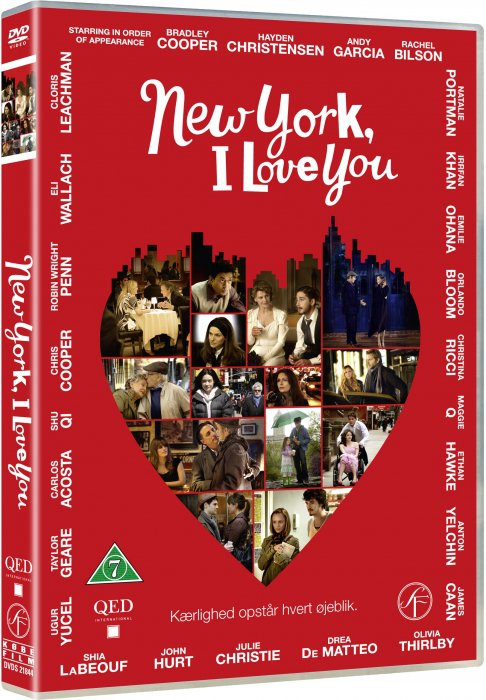 Image of   New York I Love You - DVD - Film