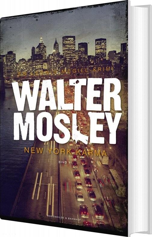 Billede af New York Karma - Walter Mosley - Bog