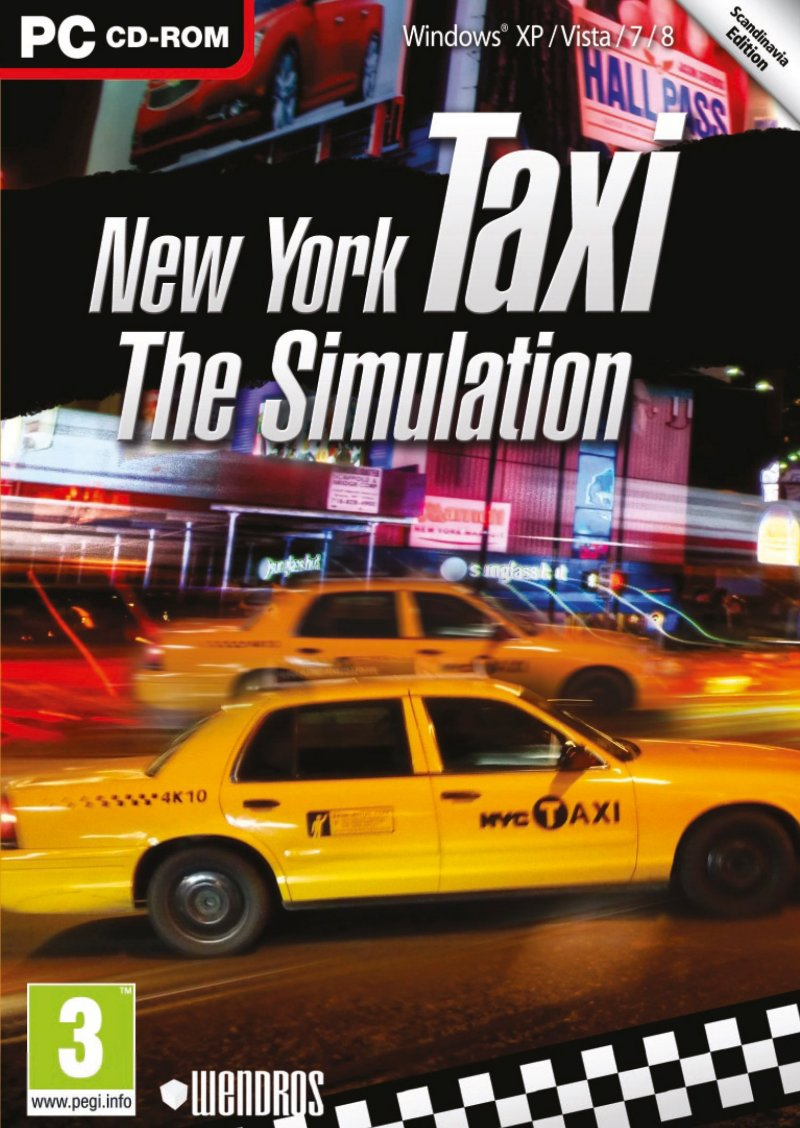 Image of   New York Taxi - The Simulator - PC