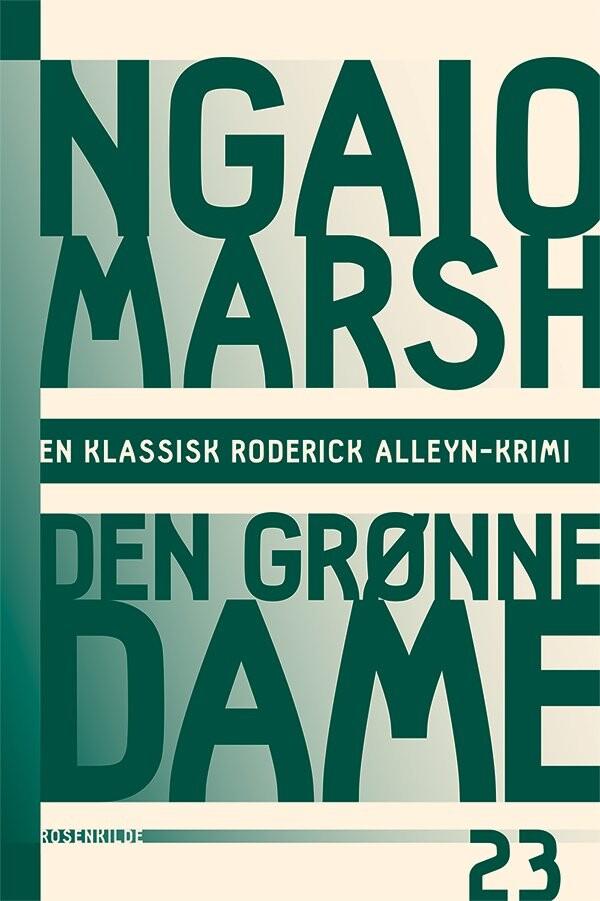 Ngaio Marsh 23 - Den Grønne Dame - Ngaio Marsh - Bog