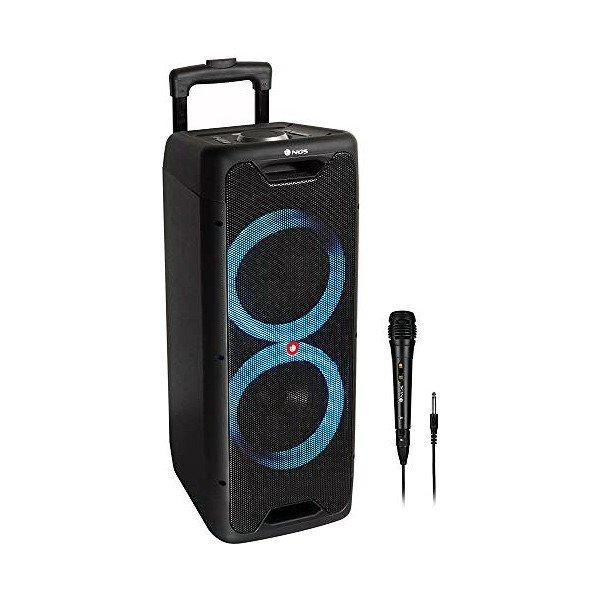 Ngs Wild Jungle 2 – Bluetooth Højtaler Med Lys Og Mikrofon