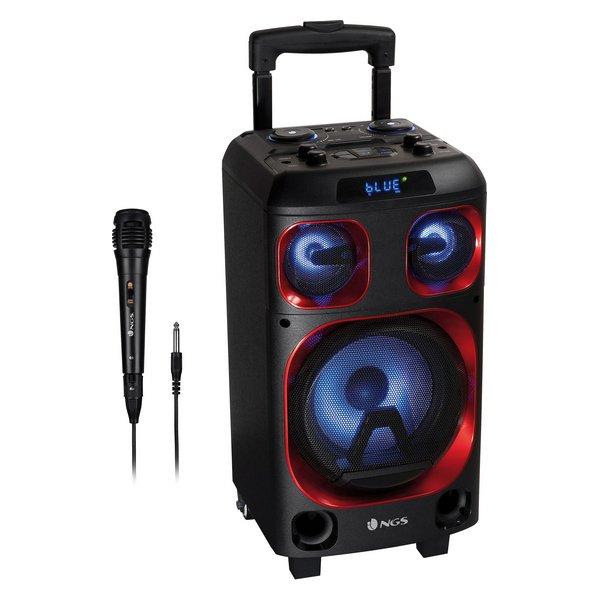 Ngs Wild Ska Zero – Bluetooth Højtaler Med Lys Og Mikrofon