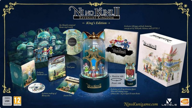 Ni No Kuni Ii (2): Revenant Kingdom (collectors Edition) - PC