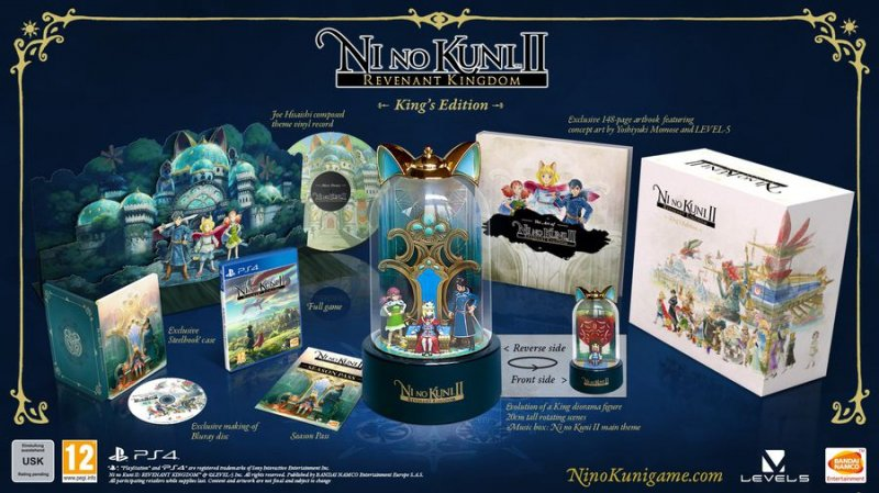 Ni No Kuni Ii (2): Revenant Kingdom (collectors Edition) - PS4