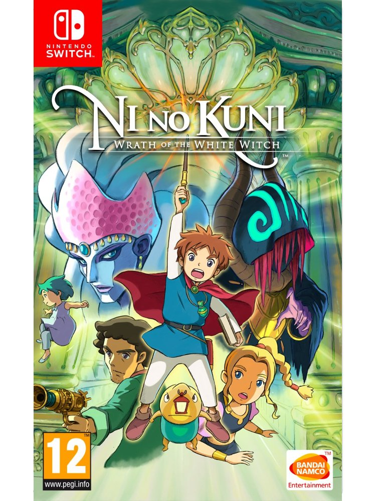 Image of   Ni No Kuni: Wrath Of The White Witch - Nintendo Switch