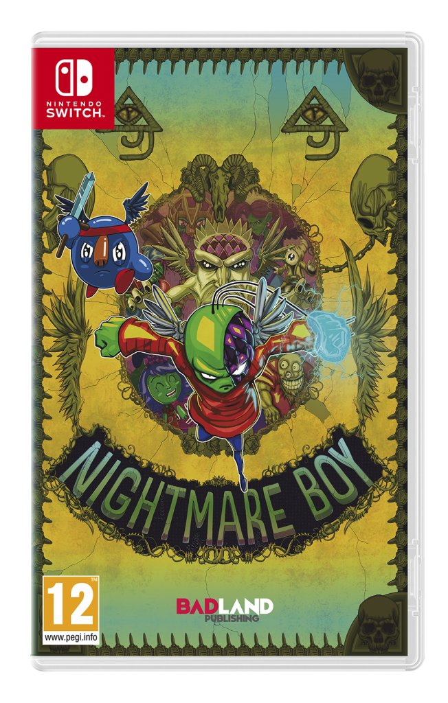 Image of   Nightmare Boy - Nintendo Switch