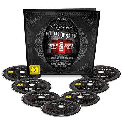 Image of   Nightwish: Vehicle Of Spirit - Earbook - Blu-Ray