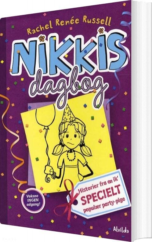 Image of   Nikkis Dagbog 2: Historier Fra En Ik Specielt Populær Party-pige - Rachel Renee Russell - Bog