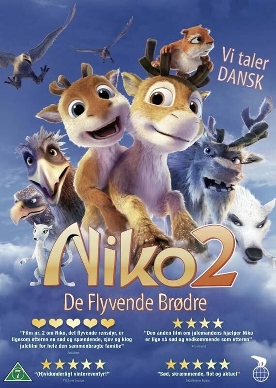 Image of   Niko 2 - De Flyvende Brødre - DVD - Film