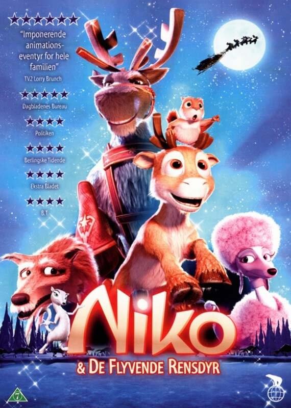 Image of   Niko Og De Flyvende Rensdyr - DVD - Film