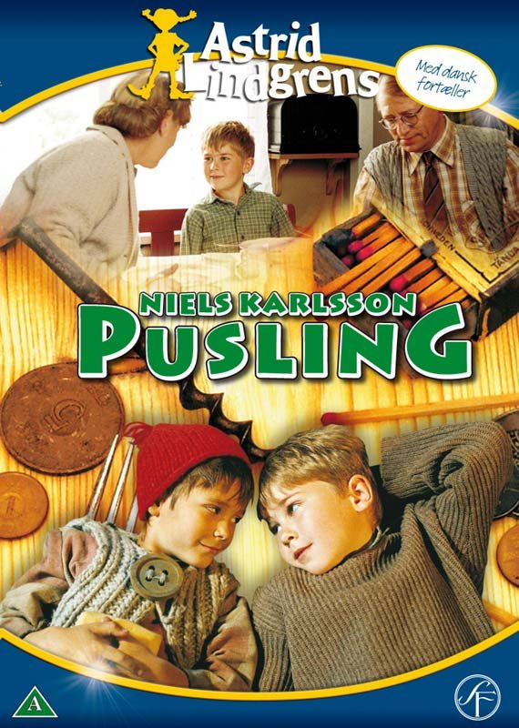 Billede af Niels Karlsson Pusling / Nils Karlsson Pyssling - DVD - Film