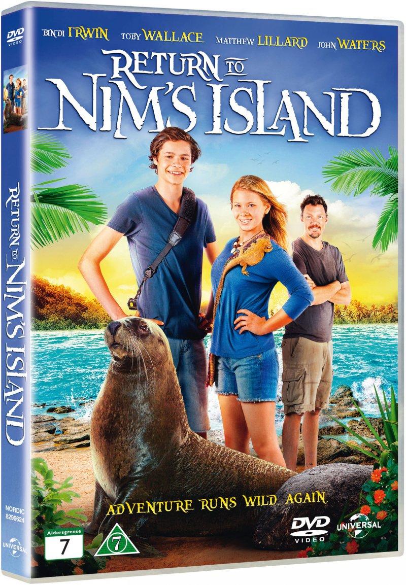 Billede af Return To Nims Island / Nim Og Den Hemmelige ø 2 - DVD - Film