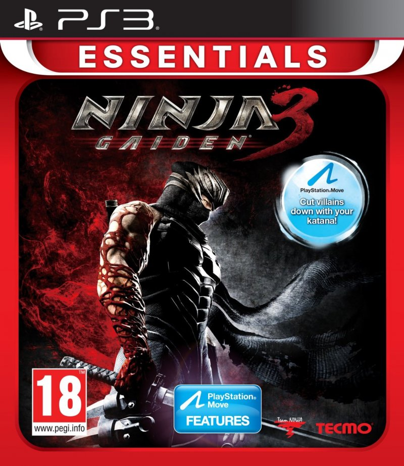 Image of   Ninja Gaiden Iii (3) (essentials) - PS3