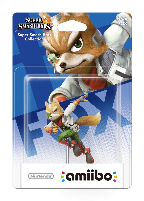 Nintendo Amiibo Figur - Fox