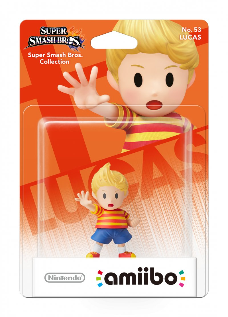 Nintendo Amiibo Figur - Lucas