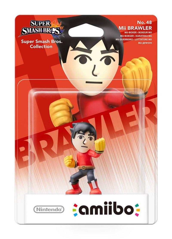 Nintendo Amiibo Figurine Mii Brawler