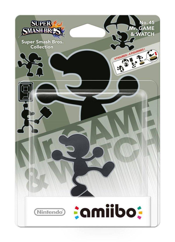 Nintendo Amiibo Figur - Mr. Game & Watch