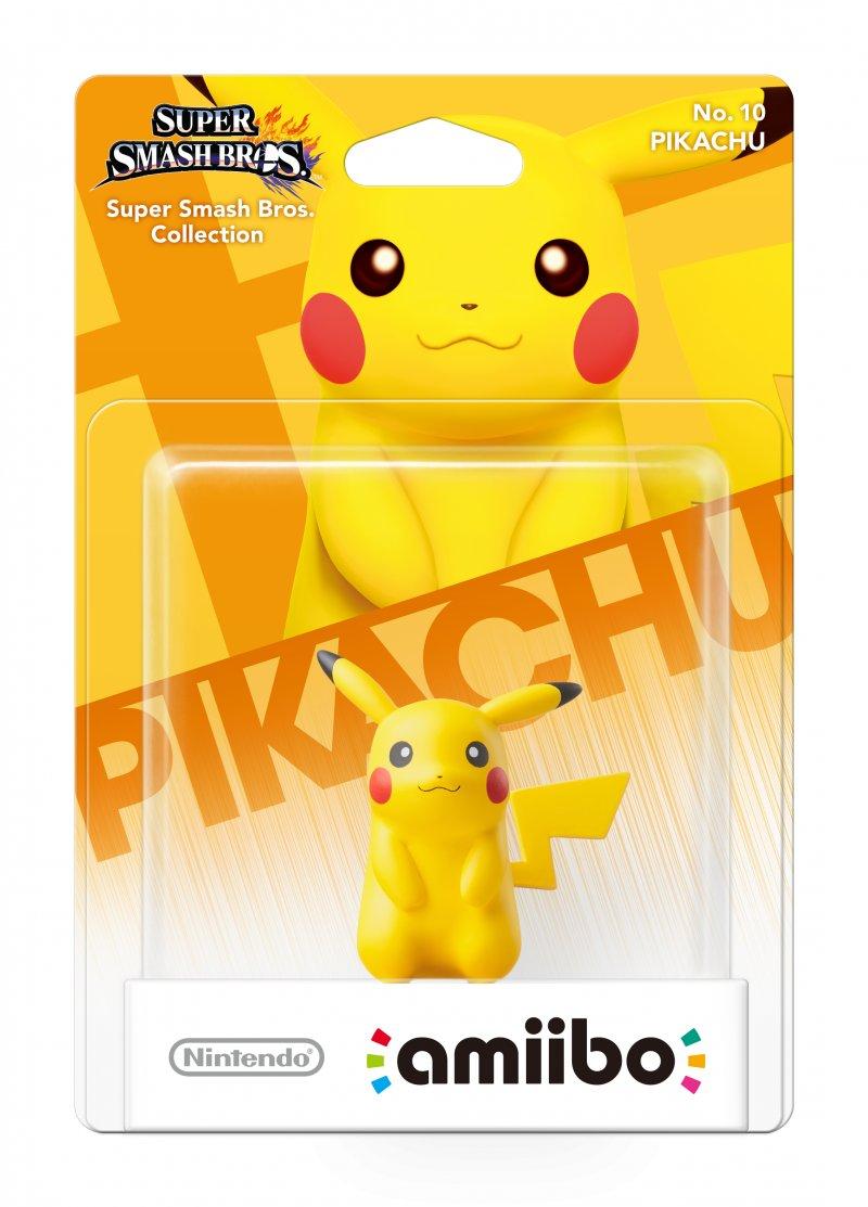 Nintendo Amiibo Figur - Pikachu
