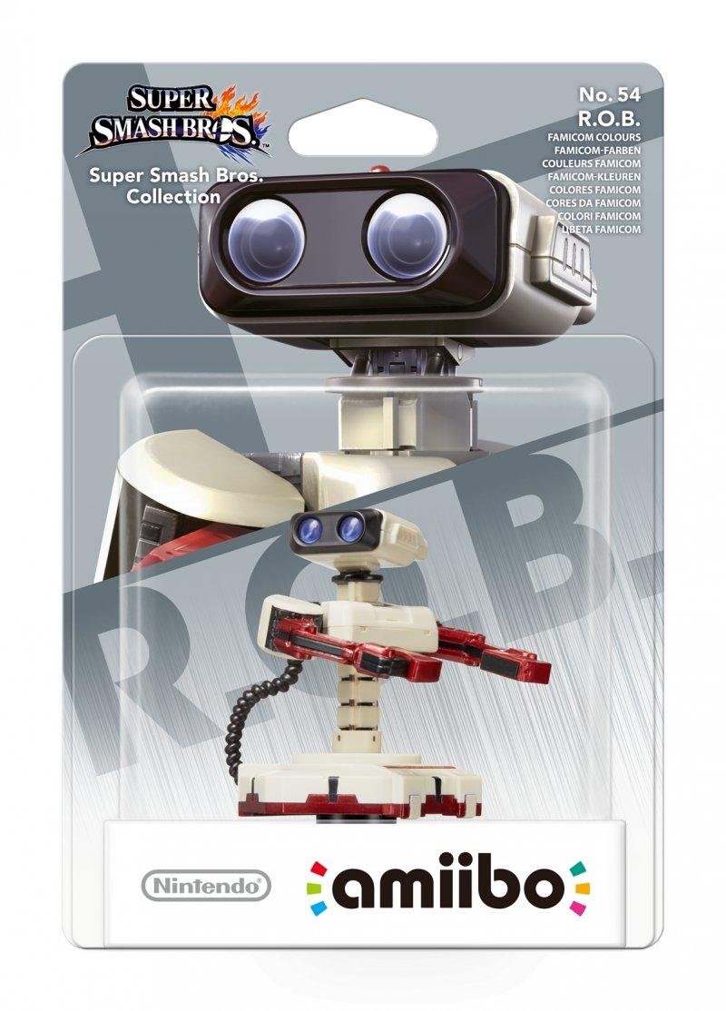 Nintendo Amiibo - Super Smash Bros. Figur - R.o.b. Famicom Colours
