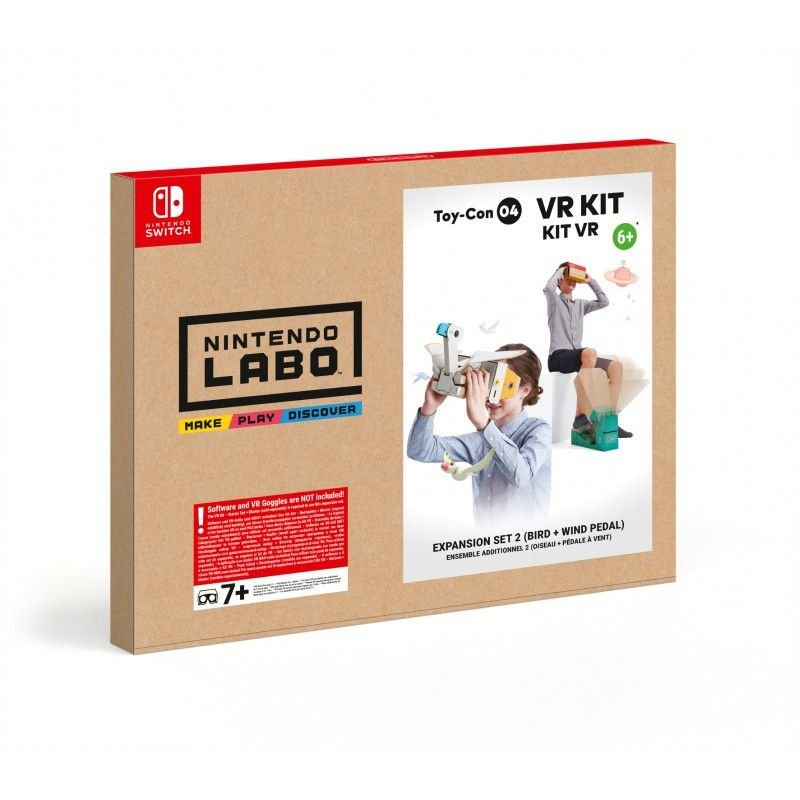 Image of   Nintendo Labo Vr Kit - Expansion Set 2 - Til Nintendo Switch