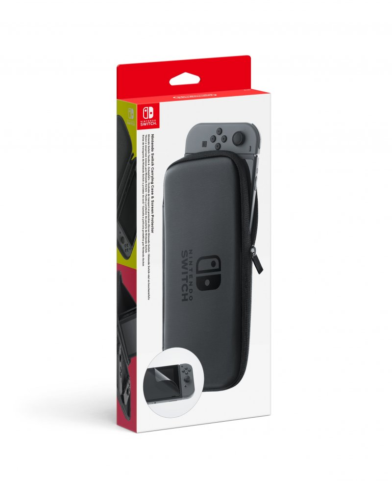 Image of   Nintendo Switch Accessory Set - Carry Case + Screen Protector