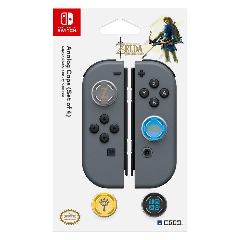 Image of   Nintendo Switch Analog Stick Caps - Legend Of Zelda
