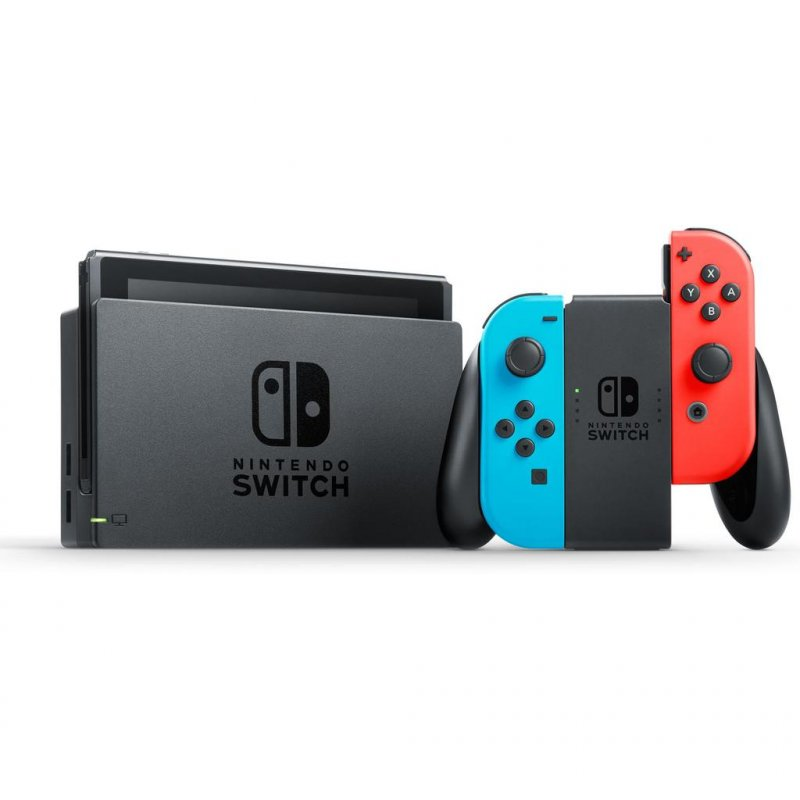 Image of   Nintendo Switch Inkl. Joy-con Pair - Neonblå Og Neonrød