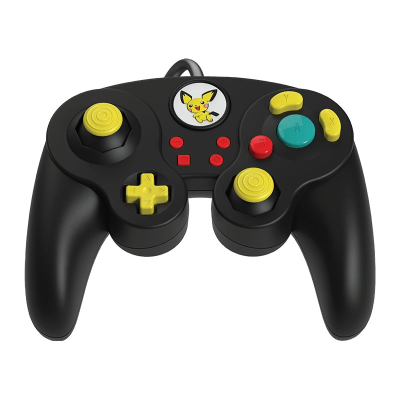 Image of   Nintendo Switch Controller - Fight Pad Pro - Pikachu