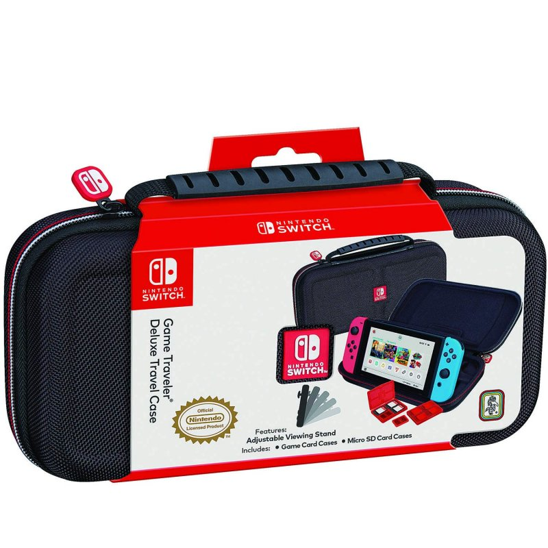 Image of   Nintendo Switch Deluxe Travel Case - Sort