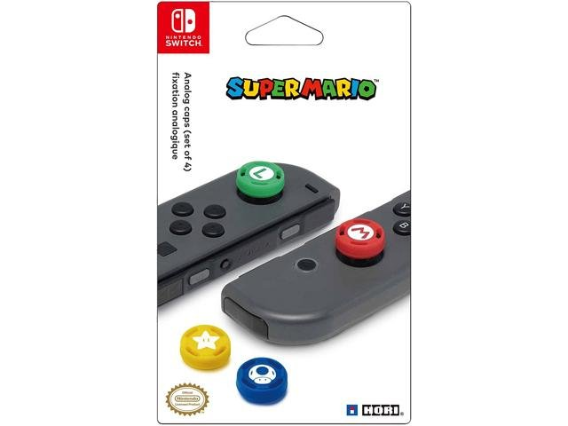 Image of   Hori - Analog Thumb Caps Til Nintendo Switch - Super Mario