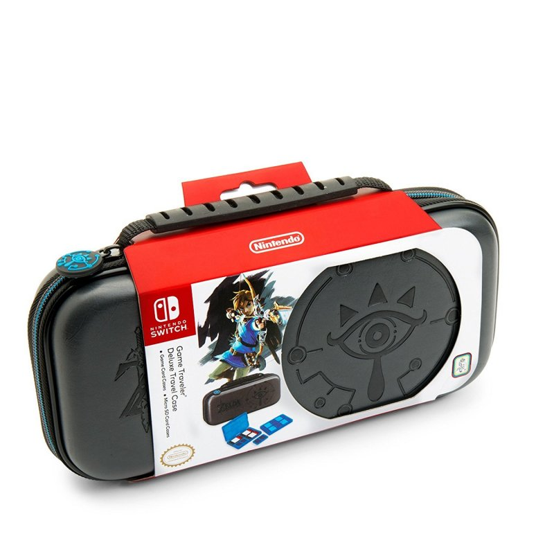 Image of   Nintendo Switch Taske - Game Traveler Case - Zelda Breath Of The Wild - Sheikah Eye