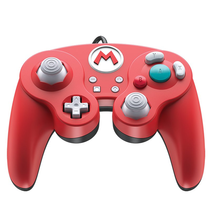 Image of   Nintendo Switch Controller - Smash Pad Pro - Mario