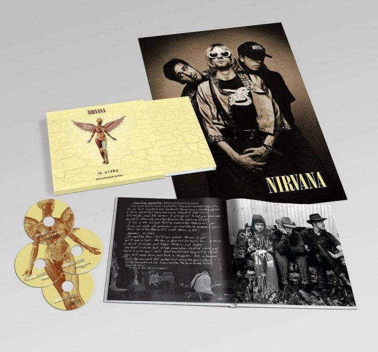 Nirvana - In Utero - 20th Anniversary (3cd+dvd) - CD