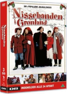 Nissebanden I Grønland - Dr Julekalender - DVD - Tv-serie