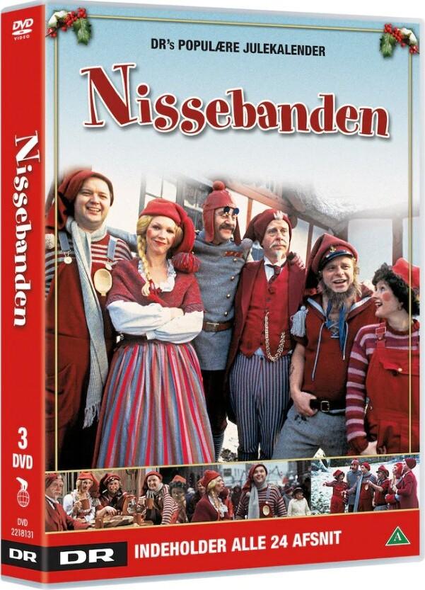 Nissebanden Box - Dr Julekalender - DVD - Tv-serie