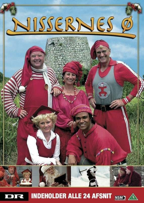 Nissernes ø - Dr Julekalender - DVD - Tv-serie