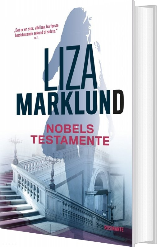 Image of   Nobels Testamente - Liza Marklund - Bog