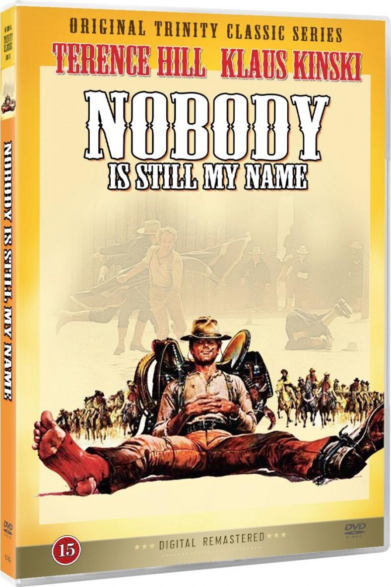 Image of   Jeg Hedder Stadig Nobody - DVD - Film