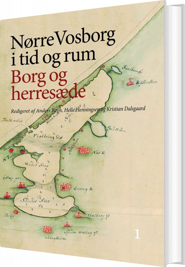 Billede af Nørre Vosborg - Signe Steen Boeskov Peter Carstens - Bog