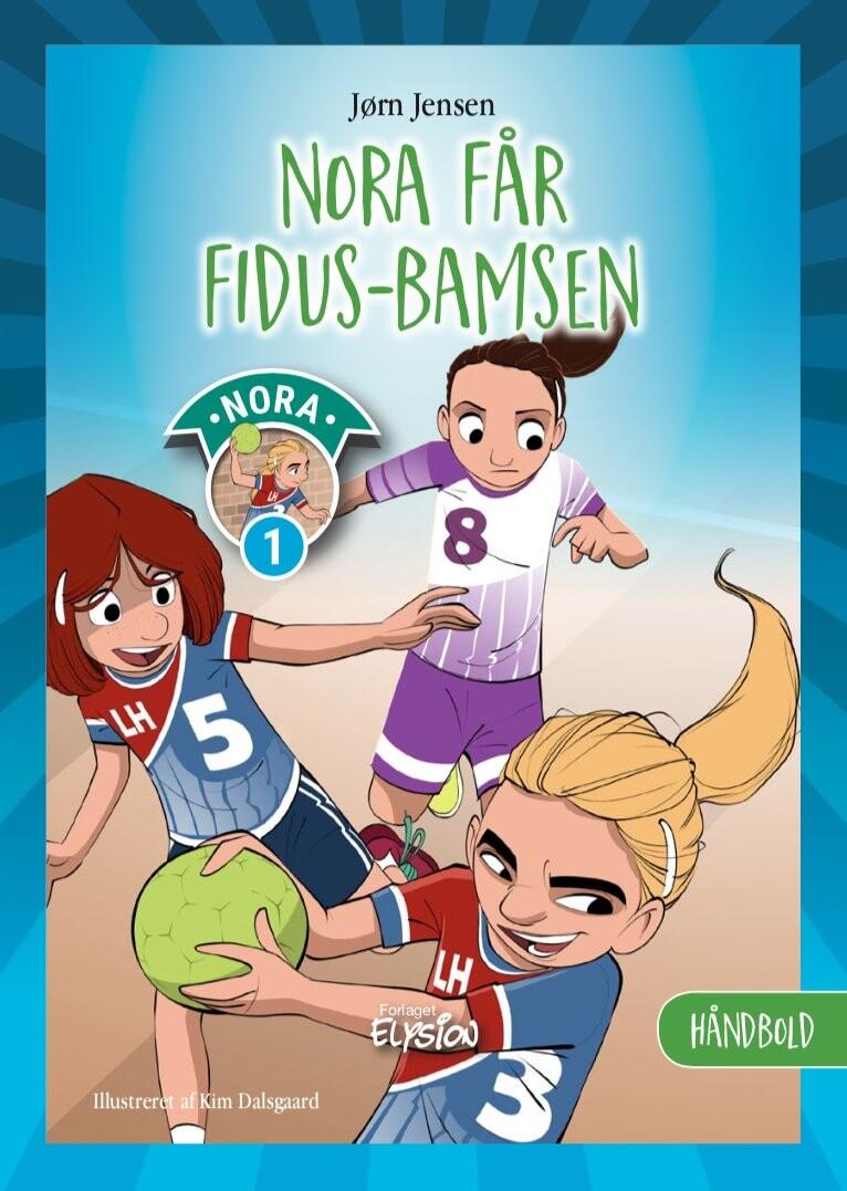 Nora Får Fidus-bamsen - Jørn Jensen - Bog